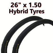 2x Tyre 26 x 1.50 (40-559) Hybrid Touring Bike Bicycle