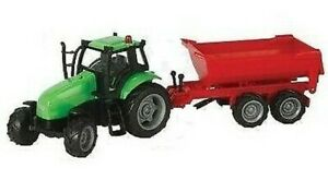 KID510653B - Tractor To Friction Green With Rims Grey With Benne Tp