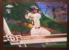 MANNY MARGOT RC #/99 2017 Topps Chrome Green Refractor San Diego Padres Rookie