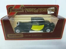 Matchbox Models of Yesteryear 1927 Bugatti T44 Y-24