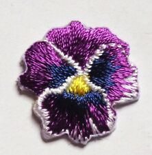 FLOWER IRON ON APPLIQUE 3/4 X 3/4 inch