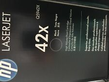 Genuine HP Q5942X (42X) Black High-Yield Toner Cartridge - Brand New