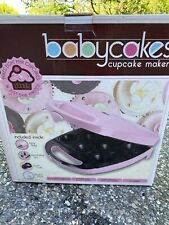 The Original Babycakes Cupcake Maker PINK Used Only Once!!!