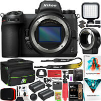 Nikon Z6II Mirrorless Camera Body Full Frame + FTZ Lens Mount Adapter Kit Bundle