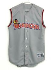AIS Washington WildThings men's size 44 authentic sleeveless baseball jersey
