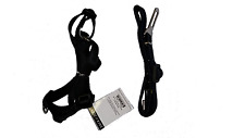 Dog Pet Adjustable Nylon Leash Harness Seat Belt Clip Combo Set For Car Travel