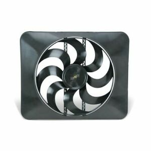 """Flex-A-Lite 104811 15"""" Black Magic Xtreme S-Blade reversible electric fan NEW"""