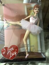 I love Lucy - Barbie Collector New The  Ballet Lucy Doll Mattel Pink Label 2008