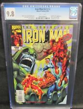 Iron Man #v3 #14 (1999) Fantastic Four Appearance CGC 9.8 White Pages Y680
