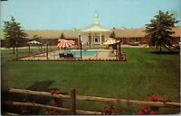 Youngstown Ohio Town House Motel Roadside 1960s Postcard