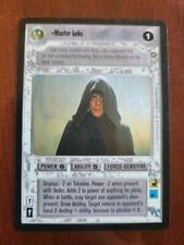 Star Wars CCG SWCCG Master Luke Enhanced Jabba's Palace Card Collection Cards