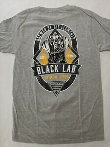 Columbia New PHG Trapper Black Lab Stout Short Sleeve Hunting T-Shirt Mens Small