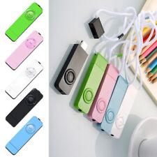 1PC MP3 Player Mini USB Support  Micro SD TF Card Fashion Music Player