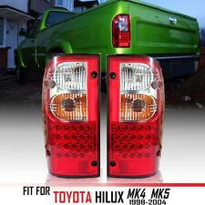 LED TAIL LIGHTS LAMPS REARS RED LEN FIT FOR TOYOTA HILUX TIGER MK4 MK5 1998-2004
