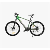 "Jetson Adventure 27.5"" Electric Bike 21-speed Shimano Gears - Black/Green"