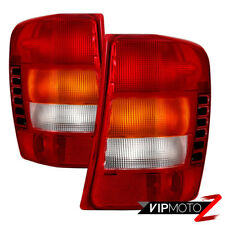 {FACTORY STYLE} RED Tail Lights Lamps Replacement 1999-2004 Jeep Grand Cherokee