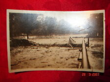 RPPC 1922 Flood Carbondale, Pa Scranton, Pa Forest City, Pa  6th Ave. Bridge