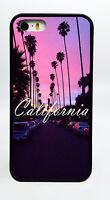 CALI CALIFORNIA BEACH BLACK PHONE CASE COVER FOR IPHONE 7 6S 6 PLUS 5C 5S 5 4