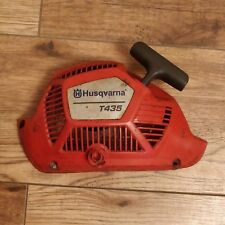 A Genuine husqvarna t435 chainsaw pull start recoil assembly complete 5220125-01