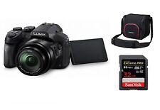 Panasonic LUMIX DMC-FZ300 DMC-FZ300EGK Zubehörpaket + PGH68 Tasche + 32 GB Karte