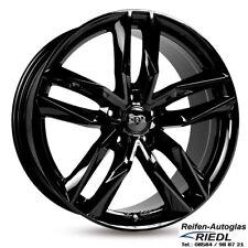 19 Zoll MAM RS3 Felgen 8,5x19 Et45 5x112 Schwarz Audi/VW/Seat/Skoda *NEU*