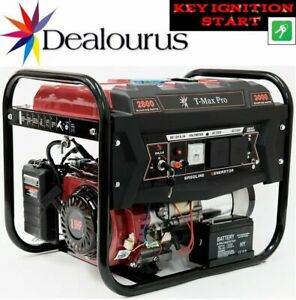 Petrol Generator  8HP Petrol 2.8KVA 4 Stroke - Low Noise - ELECTRIC KEYS START