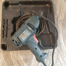"""Black& Decker Keyless Chuck 120V 3/8"""" Dr210 with Case Variable Speed"""