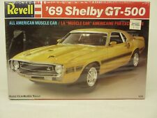 Revell #7161, '69 Shelby Gt-500, 1/25 Scale, All American Muscle Car