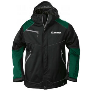 Krone Branded Green and Black Durable Softshell Jacket
