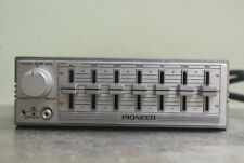 Oldtimer PIONEER COMPONENT auto equalizer modell CD-5