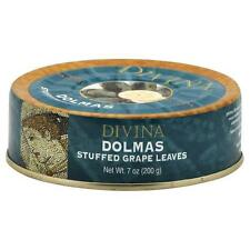 Divina Dolmas(Stuffed Grape Leaves), 7 oz tins, Case of 12 Tins