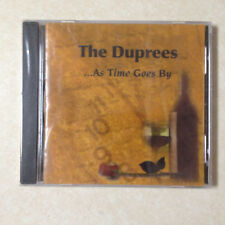 The Duprees CD - As Time Goes By   BRAND NEW