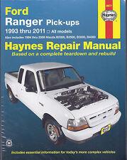 Reparaturanleitung Ford Ranger 1993 - 2011