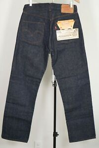 Vintage 1966 DEADSTOCK LEVI'S 501 STF Selvedge Redline 36X33 Made in USA NWT