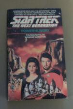 Star Trek the Next Generation Power Hunger by Howard Weinstein(1989, Paperback)
