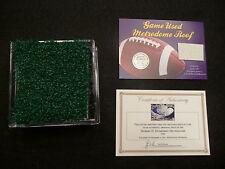 Minnesota Vikings Game used Metrodome Turf n Roof Combo Pack-Best Vikings Gift!