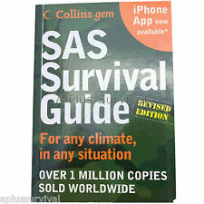 SAS Survival Guide Outdoor Camping First Aid Revised Handbook 2E Bug Out Bag