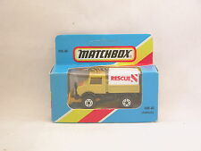 Matchbox Superfast MB48 Unimog Chasse-Neige  neuf/boite (#A25)