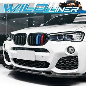 Gloss Black M Color Front Kidney Grille Grill for BMW X3 F25 X4 F26 2014-2017