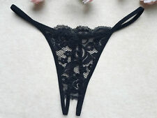 New Lace Crotchless Thongs Panties Briefs Sexy Floral Women's Underwear Lingerie