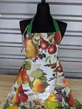 Michel Design Works Golden Pear Cotton Chef Apron Osfa