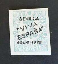 ESPAÑA SPAIN PATRIOTICO SEVILLA 1936 EDIFIL n.1 MNH sello suelto.