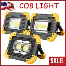 Outdoor LED COB Work Light Waterproof USB Rechargeable Searchlight Flood Lamp