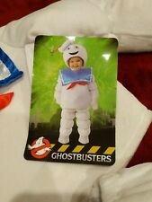 Deluxe Stay Puft Marshmallow Man Baby Toddler Costume Ghostbusters 12- 18 months