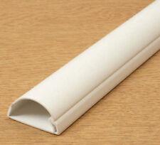 D-Line Bianco 30x15mm cavo di giunzione per nascondere fino a 3 FILI TV 1m