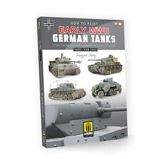 AMIG6037 How to Paint Early WWII German Tanks ENGLISH, SPANISH