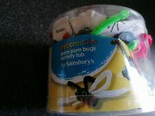 Get Creative Pom Pom Bugs Activity Tub by Sainsburys