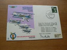 1974 volati RAF Copertina: visualizzazione dell'aria Rafa RAF gaydon, ROTHMANS AEROBATIC TEAM