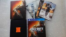 PS4 Call Of Duty Black Ops 3 III Hardened Edition Steelbook PS4 Black Ops 3