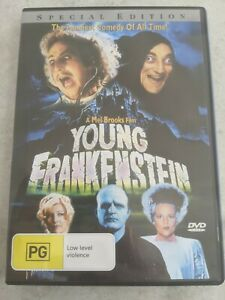 Young Frankenstein - DVD - Perfect AS NEW condition - comedy